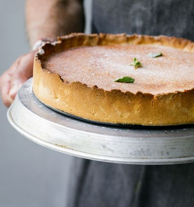 Marco Pierre White's Egg Custard Tart