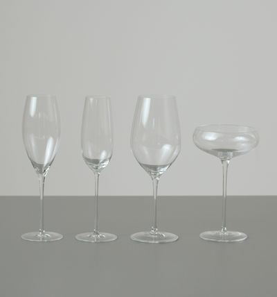 Passendes Champagner-Glas