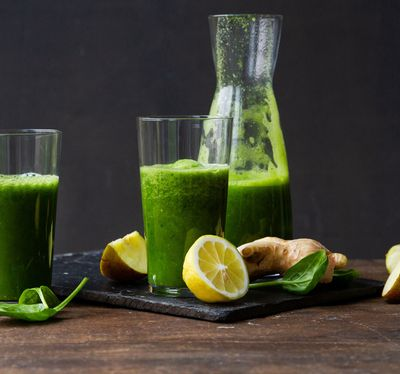 Green Smoothie Light mit Ingwer